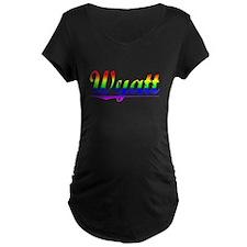 Wyatt, Rainbow, T-Shirt