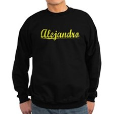 Alejandro, Yellow Sweatshirt