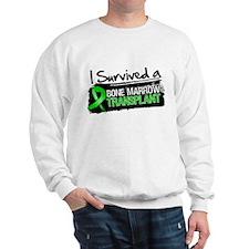 I Survived Bone Marrow Transplant Sweatshirt