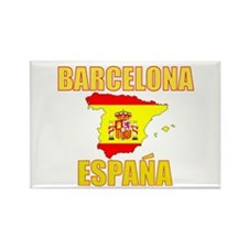 Cool Barcelona Rectangle Magnet (100 pack)