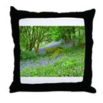 Bluebell Woods.jpg Throw Pillow