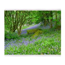 Bluebell Woods.jpg Throw Blanket