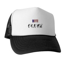 Vote Larry Flynt Trucker Hat