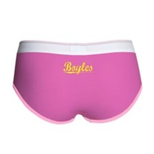 Boyles, Yellow Women's Boy Brief