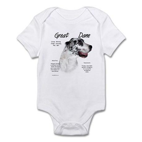 Harlequin Great Dane Infant Bodysuit