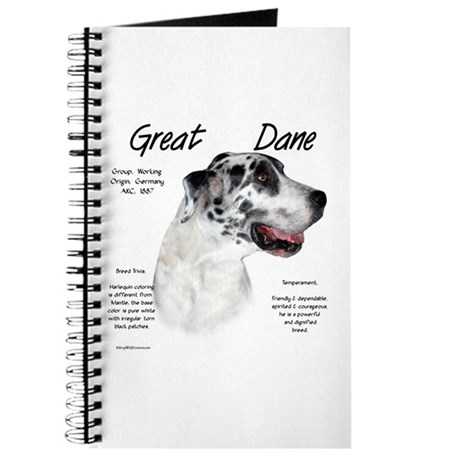 Harlequin Great Dane Journal