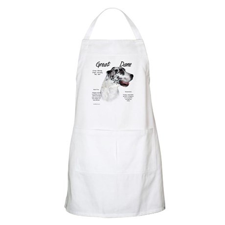Harlequin Great Dane BBQ Apron