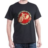 80's Street Racer Black T-Shirt