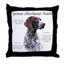 GSP Throw Pillow