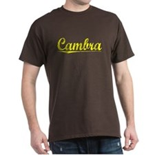 Cambra, Yellow T-Shirt
