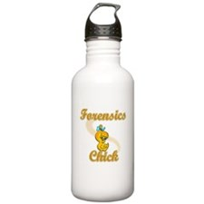 Forensics Chick #2 Water Bottle