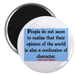 EMERSON - CHARACTOR QUOTE Magnet