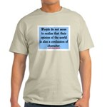 EMERSON - CHARACTOR QUOTE Light T-Shirt