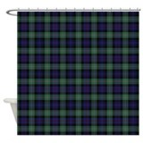 MacKenzie Tartan Celtic Shower Curtain