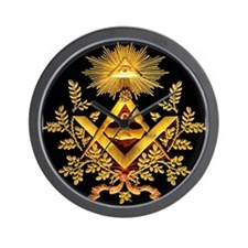 Cute Freemasons Wall Clock