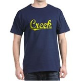 Creek, Yellow T-Shirt