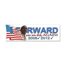 yes we did, AGAIN!: Car Magnet 10 x 3