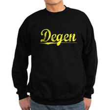 Degen, Yellow Sweatshirt