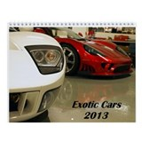 Exotic Cars 2013 Calendar