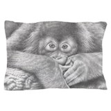 Baby Orangutan Pillow Case