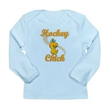 Hockey Chick #2 Long Sleeve Infant T-Shirt
