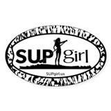 SUPgirl  Aufkleber