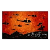 Harvest Moons US Army Decal