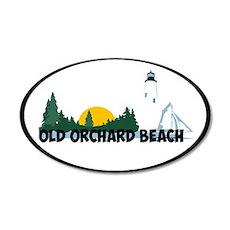 Old Orchard Beach ME - Beach Design. 20x12 Oval Wa