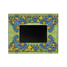 Harvest Moons Quilted Butterflies Picture Frame