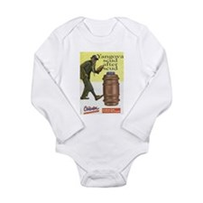 Cute Zimbabwean Long Sleeve Infant Bodysuit