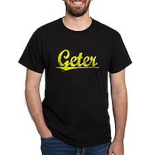 Geter, Yellow T-Shirt