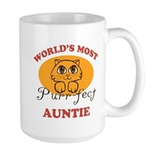 One Purrfect Auntie Coffee Mug