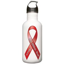 Support Red Ribbon Week Water Bottle