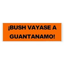 Guantanamo! Bumper Bumper Sticker