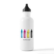 CMYK Water Bottle