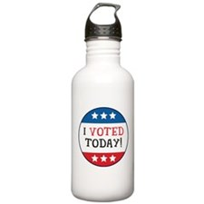 I Voted Today Water Bottle