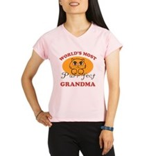 One Purrfect Grandma Performance Dry T-Shirt