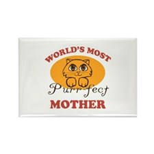 One Purrfect Mother Rectangle Magnet