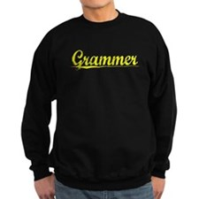 Grammer, Yellow Sweatshirt