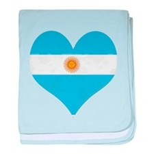 El Corazon de Argentina baby blanket