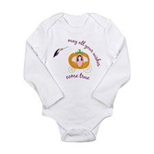 Wish Come True Long Sleeve Infant Bodysuit