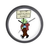 Save Pluto! Wall Clock