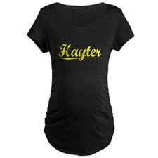 Hayter, Yellow T-Shirt
