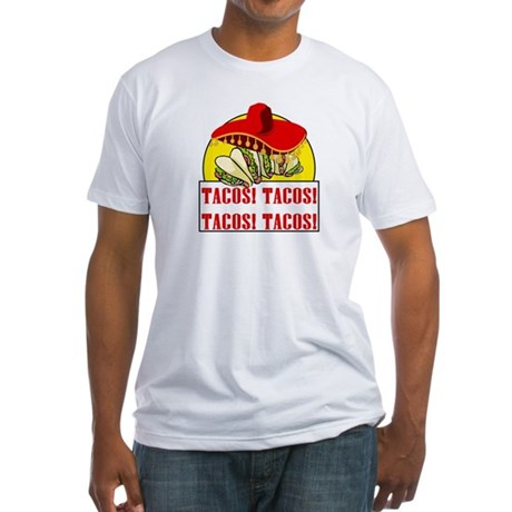 Reno 911 Tacos Tacos Fitted T-Shirt