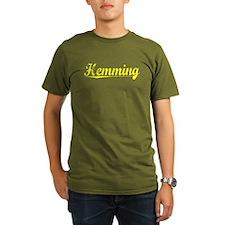 Hemming, Yellow T-Shirt