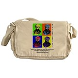 rambamwarhol2.png Messenger Bag