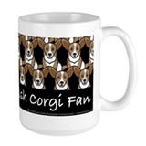 Cardigan Welsh Corgi Fan Mug