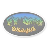 Whitefish Mountain Decal