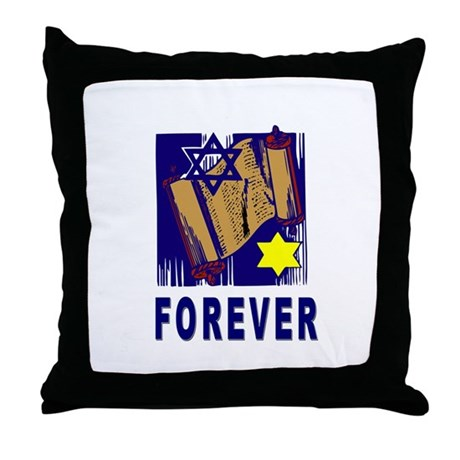 Torah Forever Throw Pillow