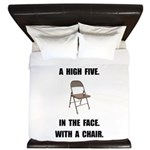 High Five Chair King Duvet